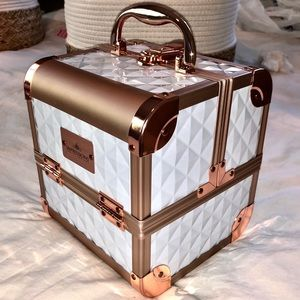 NEW Impressions Slaycube Makeup Case Rose Gold WOW
